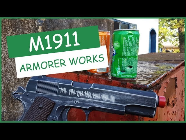 Pistola M1911 Armorer Works - Airsofts