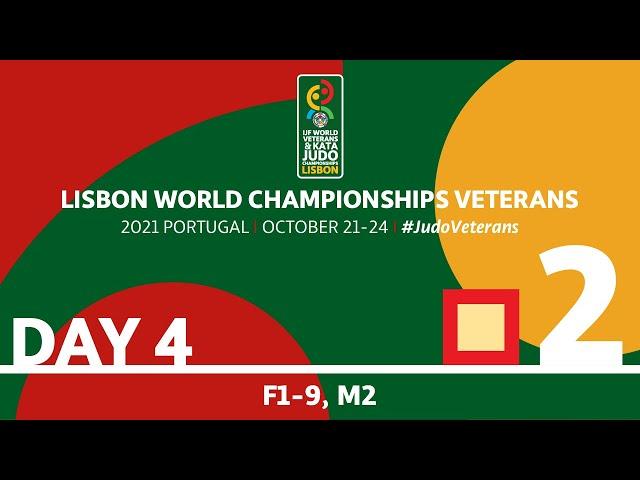 Day 4 - Tatami 2: World Championships Veterans 2021