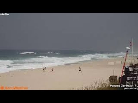 LIVE WEBCAM: Hurricane Nate in Panama City, FL | Saturday, 7 October 2017