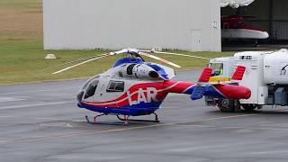 Luxembourg Air Rescue - Landung Air Rescue 3 - MD902 - LX-HAR - City Airport Mannheim