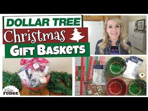 5 DIY DOLLAR TREE CHRISTMAS GIFT BASKETS 🎄  | Budget Christm