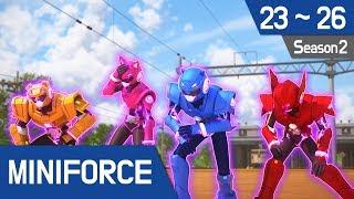 [41.32 MB] [Miniforce] Season2 Ep23~26