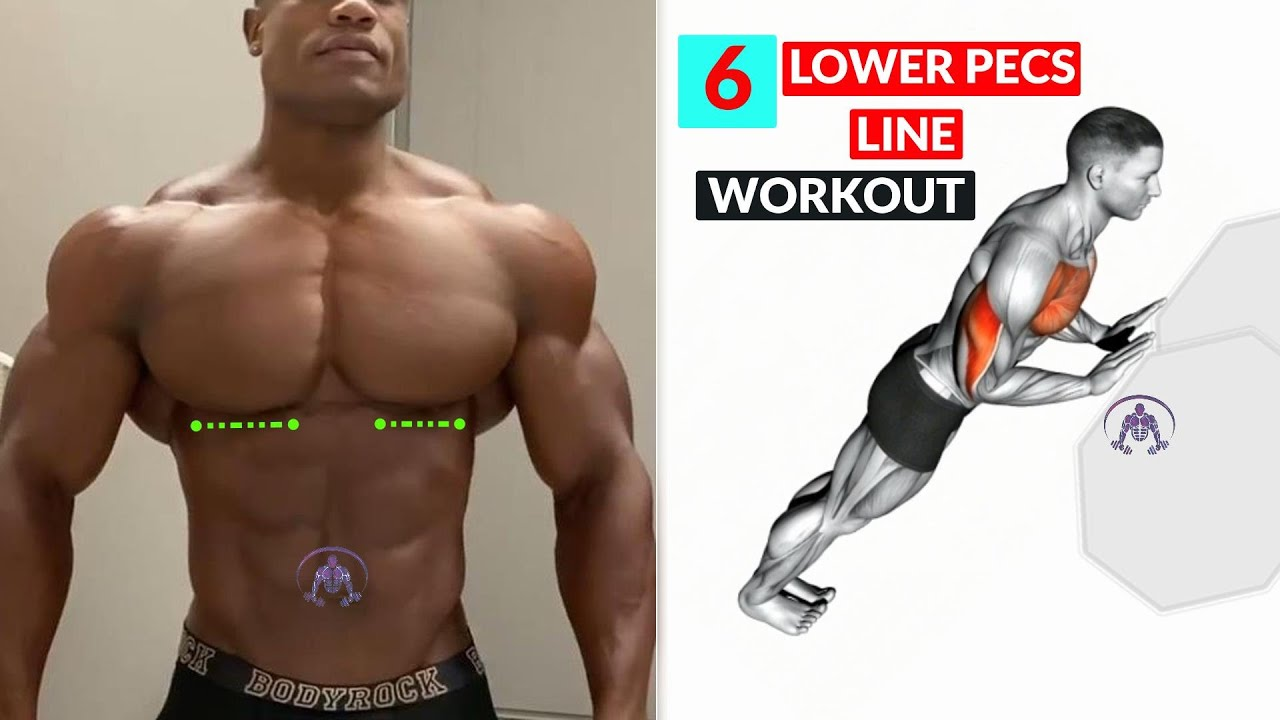 6 Lower Pec Exercises For The LOWER PECS LINE