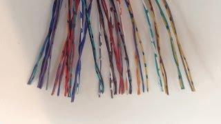 Telecom wiring color code