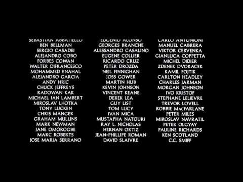 Gladiator 2000 End Credits