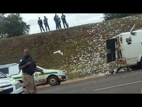 CRIME STOP : G4S Cash heist in Pretoria N4 | cash-in-transit | After the scene | Police C.I.A