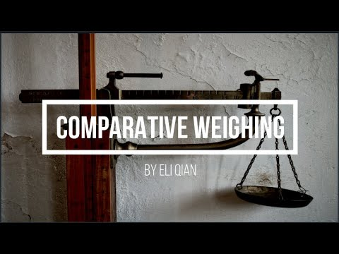 Download Comparative Weighing
