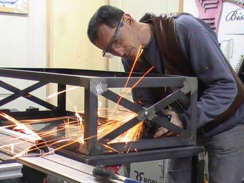 Fabrication Table Basse De Style Industriel Par Mdv12 Youtube