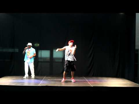 Adam's Sports Caribbean Zumba® Fitness Party. Live on stage with Trafassi - Stuiver, dubbeltje