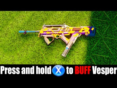 WHAT HAPPENS IF YOU BUFF THE VESPER... (OMG!)