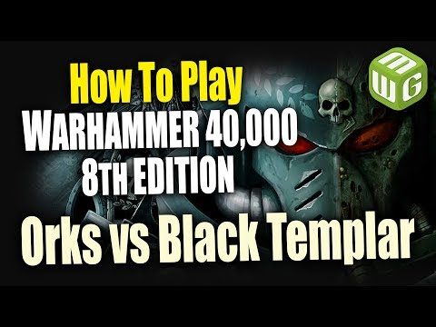Orks vs Black Templar Warhammer 40k 8th Edition Battle Report Ep 5