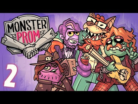 How Cool IS Deke?!   Monster Prom SUMMER TIME DLC FUN W/ Octopimp, Davis, And Alex - Part 2