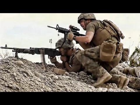 Afghanistan War - Marines Taking Casualties During Fierce Heavy Intense Firefight In Afghanistan