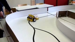 Leerlingen van Leiepoort Campus Sint-Hendrik bouwen race-robot