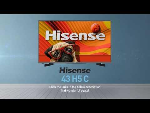 Hisense 43H5C H5 series full HD smart TV // Full Specs Review#Hisense
