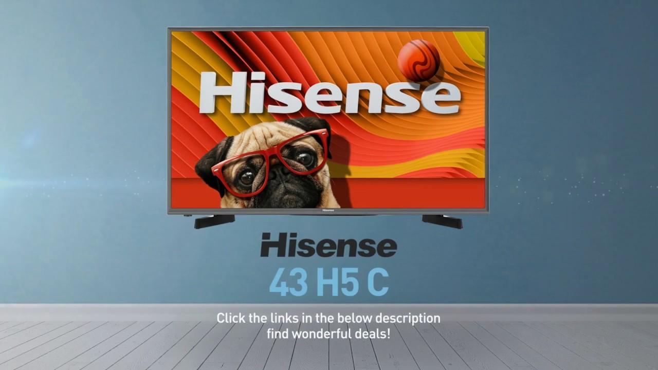 Hisense 43H5C H5 series full HD smart TV // Full Specs