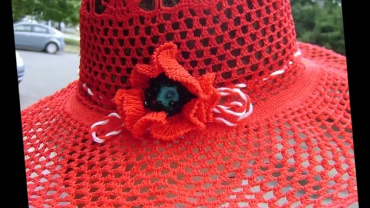 Шляпки для женщин схемы