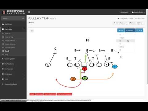 FirstDown PlayBook Youth Wing T Is Simple
