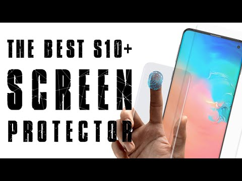 This Is Probably the Only Screen Protector that Works on the S10