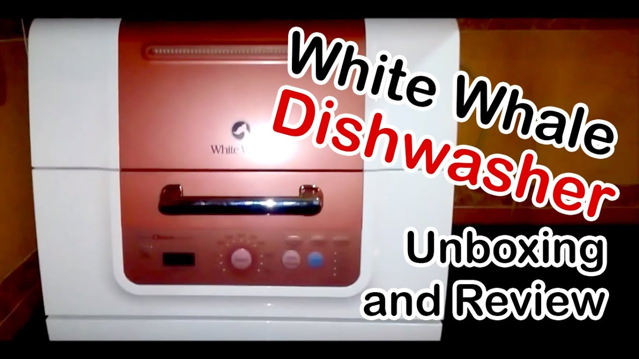 White Whale Dishwasher Manual Champion Ultrastar Wiring Diagram Dwa 0602s Counter Top 6 Place Settings Unboxing And Review