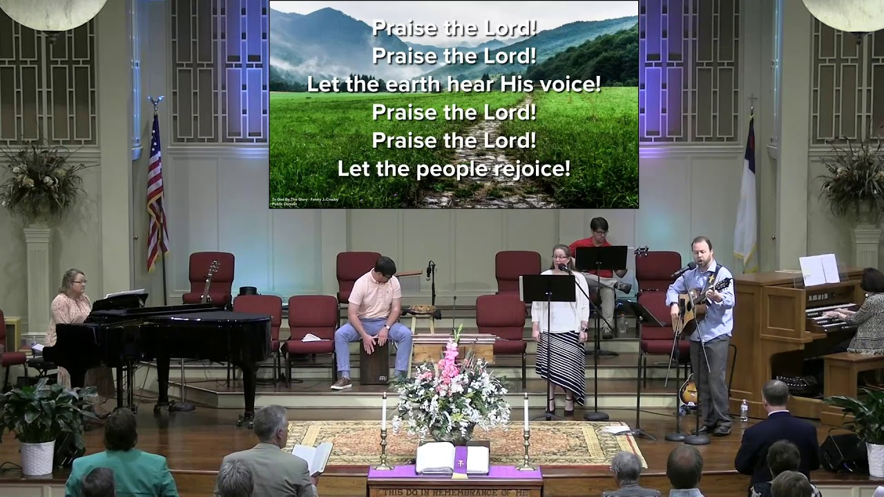 March 14, 2021 Service [Trimmed] at First Baptist Thomson, Streaming License 201531172