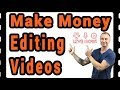 How To Make Money Editing Videos (Great  For Beginners)🎬