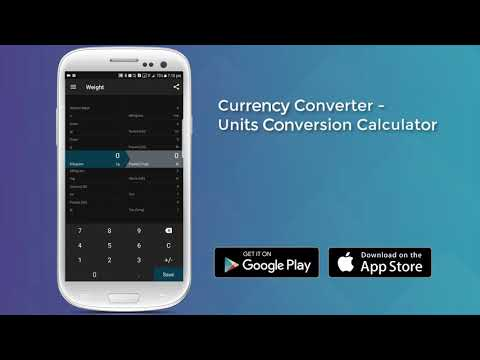 Currency Converter - Units Conversion Calculator - YouTube