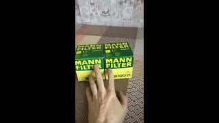 MANN Filter (как отличить подделку)