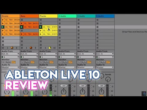Ableton Live 10 Music Production Software Review - Digital DJ Tips
