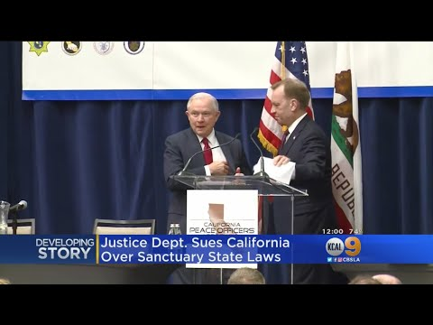 Sessions On Suit Against Calif. Sanctuary State: ICE Agents Unable To Do Their Jobs