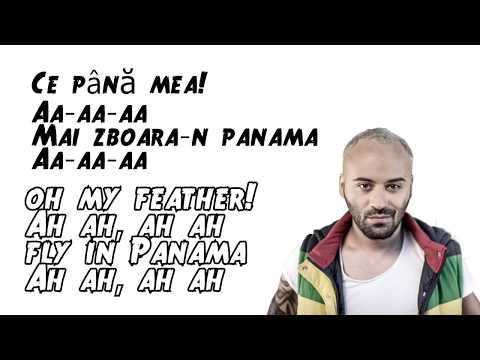 Matteo Panama - Lyrics Video ( Romanian / English )