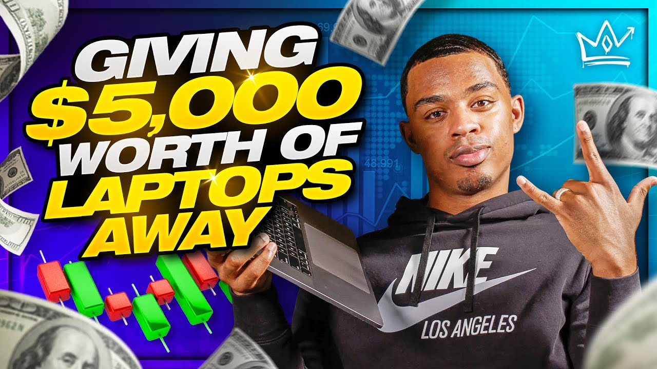 GIVING $5,000 WORTH OF LAPTOPS TO YOU GUYS!!!