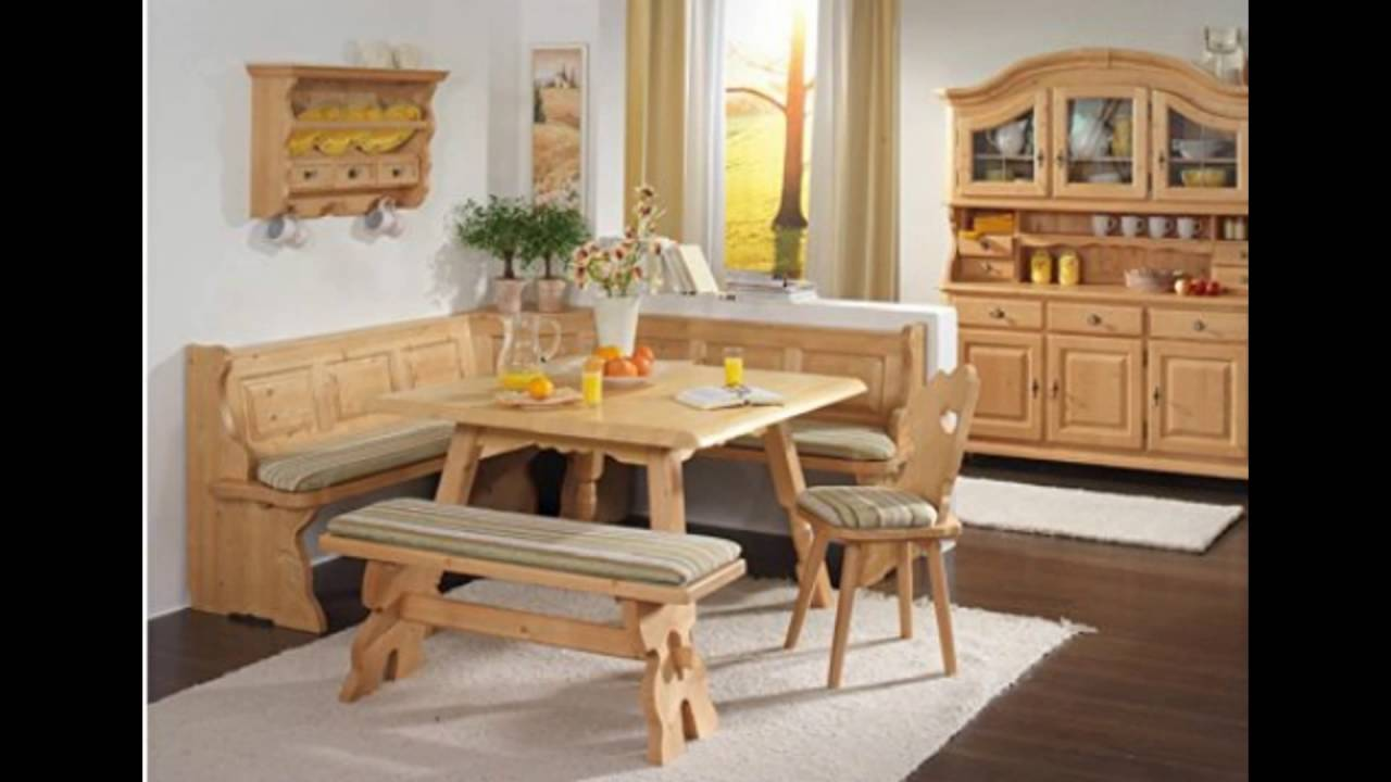 corner nook dining sets YouTube