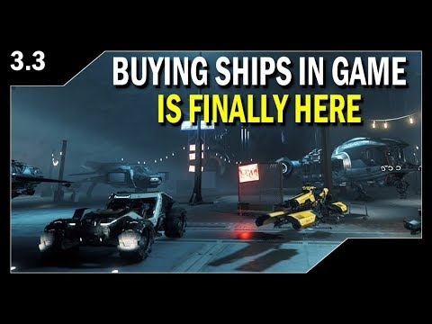 STAR CITIZEN: Players Can Now Buy Ships In Game