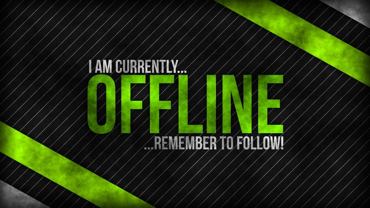 Free Twitch 'Offline' Background | #2 - 'Apple' - YouTube