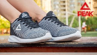 Кроссовки для спорта женские E73378H-BLA ✓ PEAK Sport ... 48f9d79c9e10e