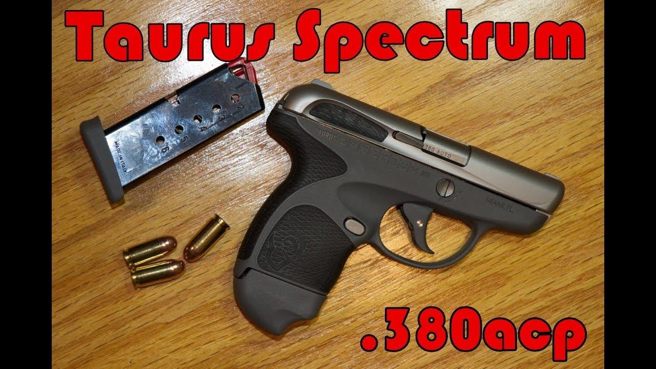 Taurus Spectrum, futuristic smooth pocket gun for personal