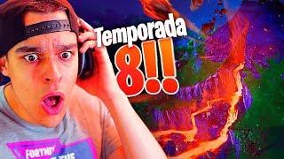 REACCIONANDO A LA TEMPORADA 8 DE FORTNITE - AlphaSniper97