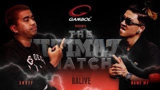 "TWIO4 : SNUFF vs NAMEMT ""THE ULTIMATE MATCH"" (8ALIVE) 