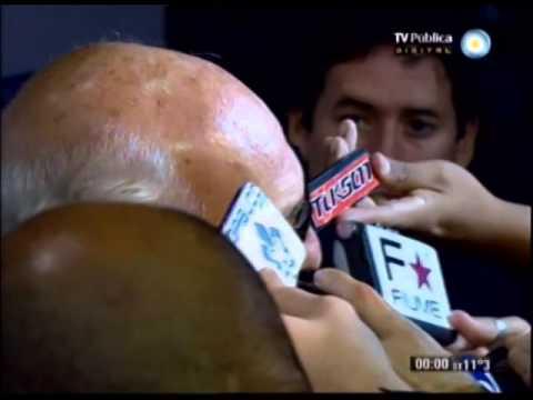 Conferencia de Prensa Carlos Bianchi - Otro pobre empate de Boca - 13-04-14