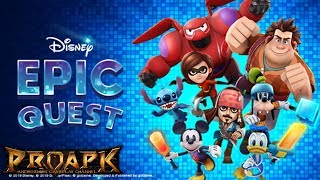 Disney Epic Quest Android Gameplay (Soft Launch)