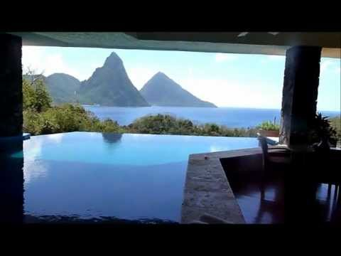 Jade Mountain Sun Sanctuary, St. Lucia.wmv