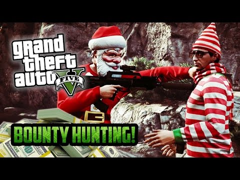 GTA 5 Online  Christmas Eve BOUNTY HUNTER Special! Free Roam Goofing Around! GTA 5 Funny Moments
