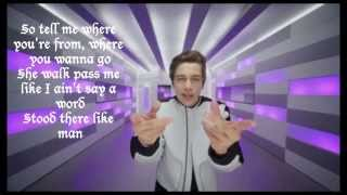 Repeat youtube video Austin Mahone ft. Pitbull Mmm Yeah Karaoke-lyrics