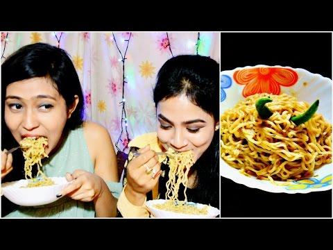 2 Minutes Maggi Challenge || With Bestie || Maggi Hot Heads || Nilanjana Dhar