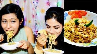2 Minutes Maggi Challenge    With Bestie    Maggi Hot Heads    Nilanjana Dhar