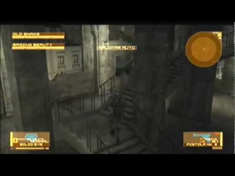 Metal Gear Solid 4 Trofeo Nº7 Muñeca Raging Raven: Defeated Raging Raven by non-lethal... means