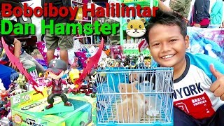Beli Boboiboy Halilintar Dan Hamster di Pasar Joging