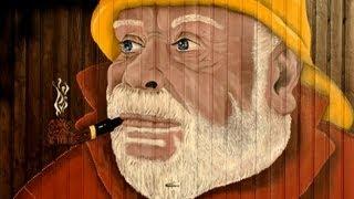 Garage Door Painting By Tinibee09