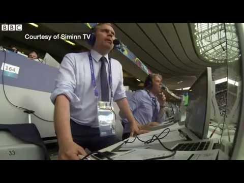 Видео: Самый сумасшедший комментатор Евро 2016  Исландия - Англия